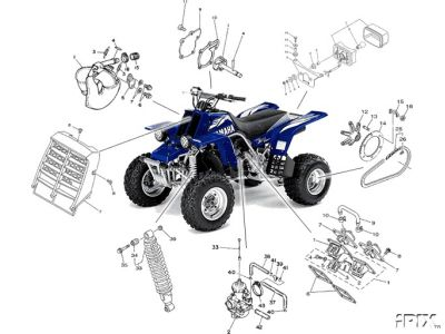 YAMAHA PARTS & DIAGRAM'S CD ROM'S